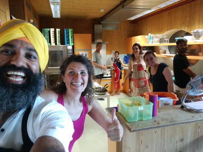 Indisch Kochen_Group Photo